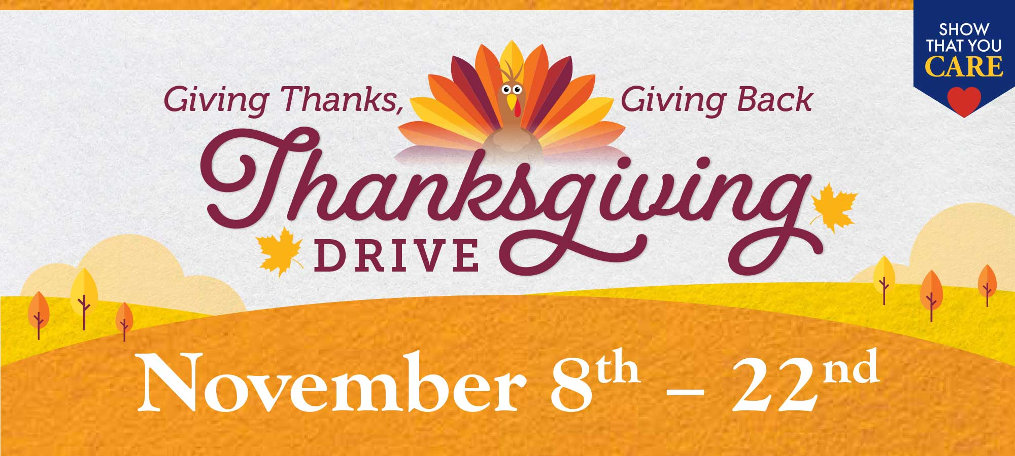 Giving Thanks, Giving Back - Thanksgiving Drive in Houston