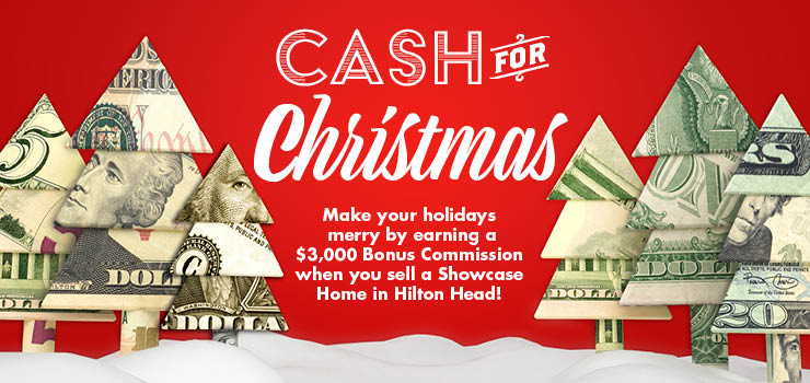 Cash for Christmas in Hilton Head, SC