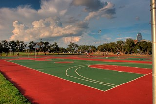 Mayfield Ranch - Basketball Court