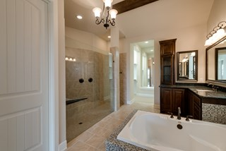 The Meadowood - Master Bath