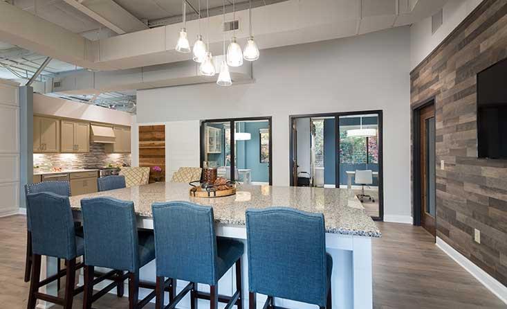 The David Weekley Homes Design Center in Raleigh, Durham, Chapel Hill, NC