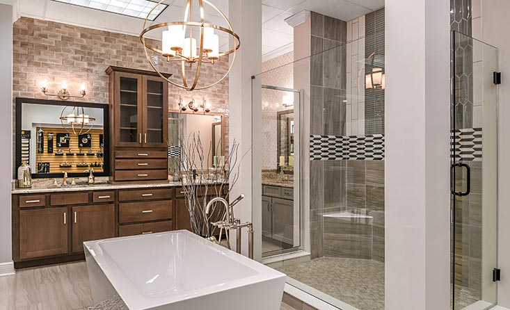 The David Weekley Homes Design Center in Tampa, FL