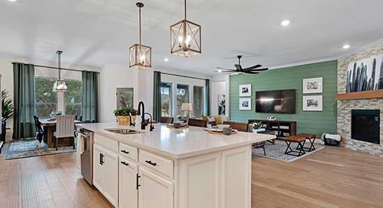 Kitchen in The Halstead in San Antonio, TX