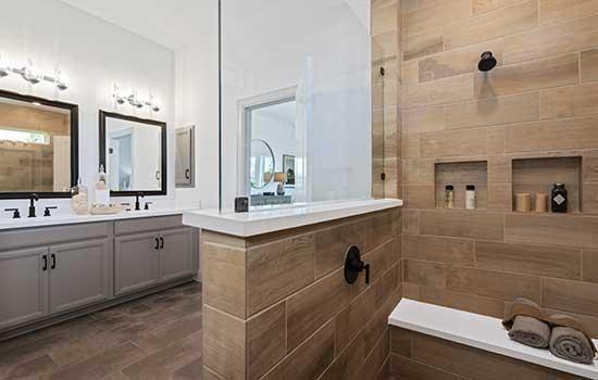 Owner's Bath in the Ridgegate, Austin, TX
