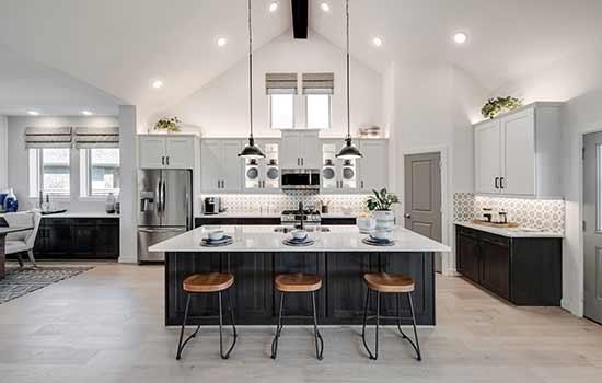 The Augustine Floorplan in Houston, TX - Kitchen