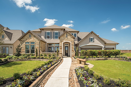 The Teff Model Home In Cinco Ranch U2013 Ridgefield Heights Is Open Daily For  Tours.