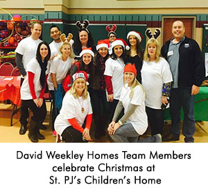 DWH Team Members celebrate Christmas at St PJ's Children's Home