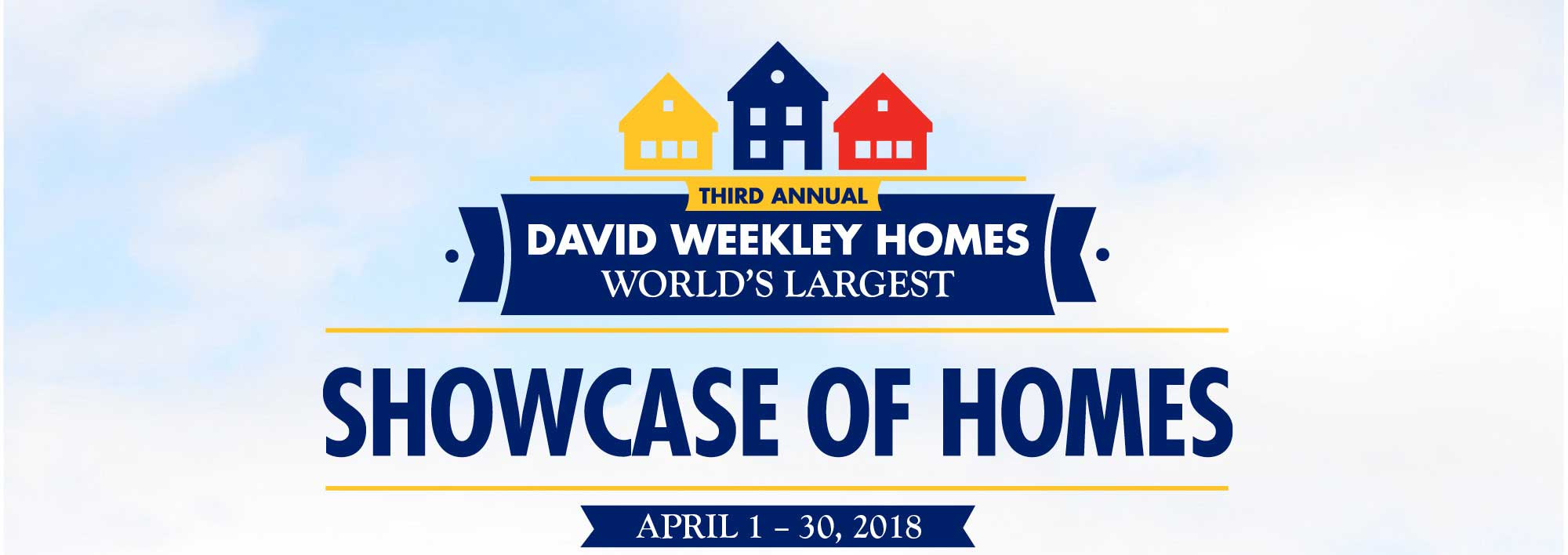 David Weekley Homes World's Largest Showcase of Homes