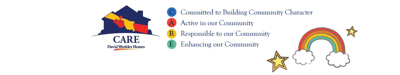 David Weekley Homes CARE logo