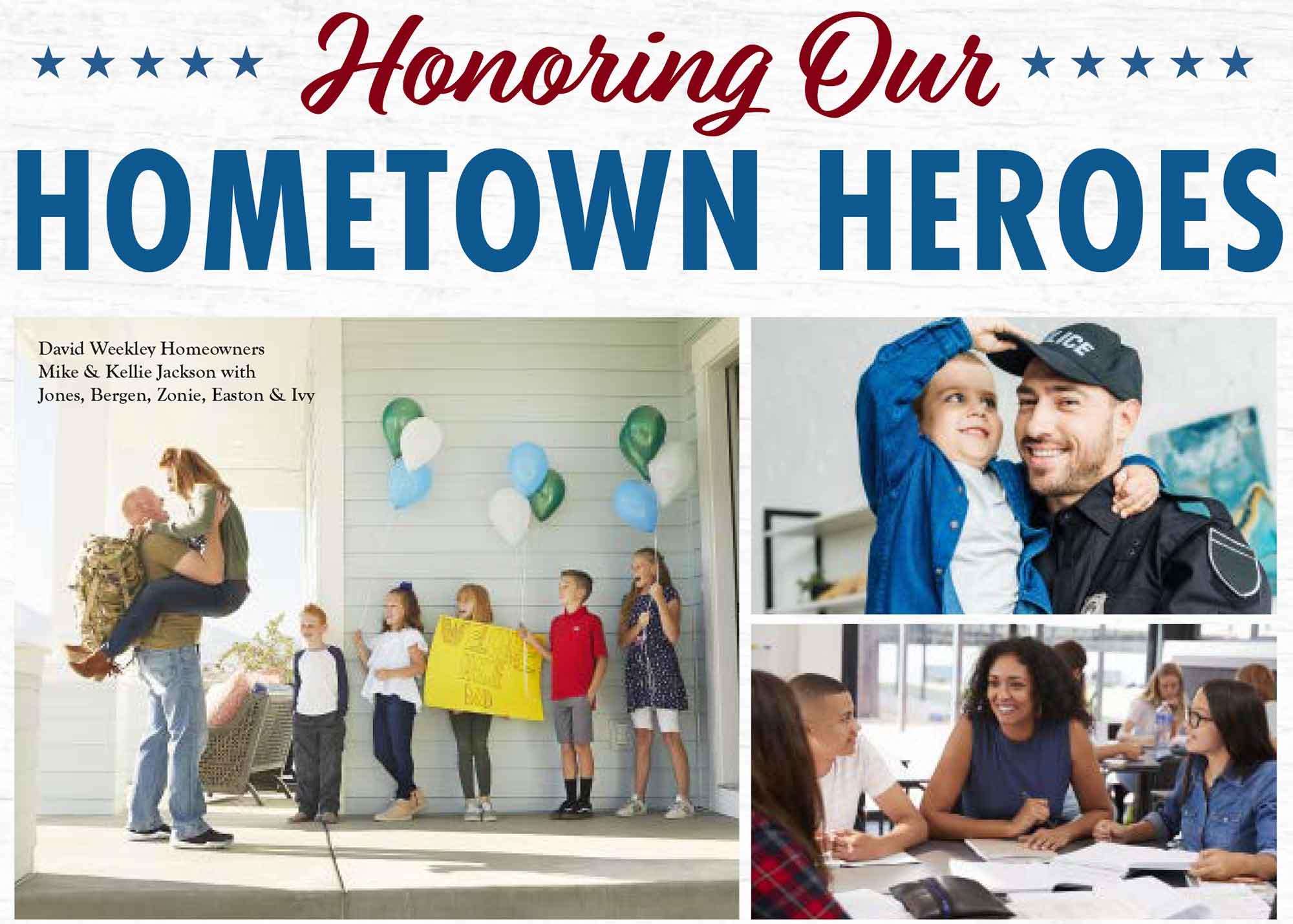 Salute to Hometown Heroes in Austin!