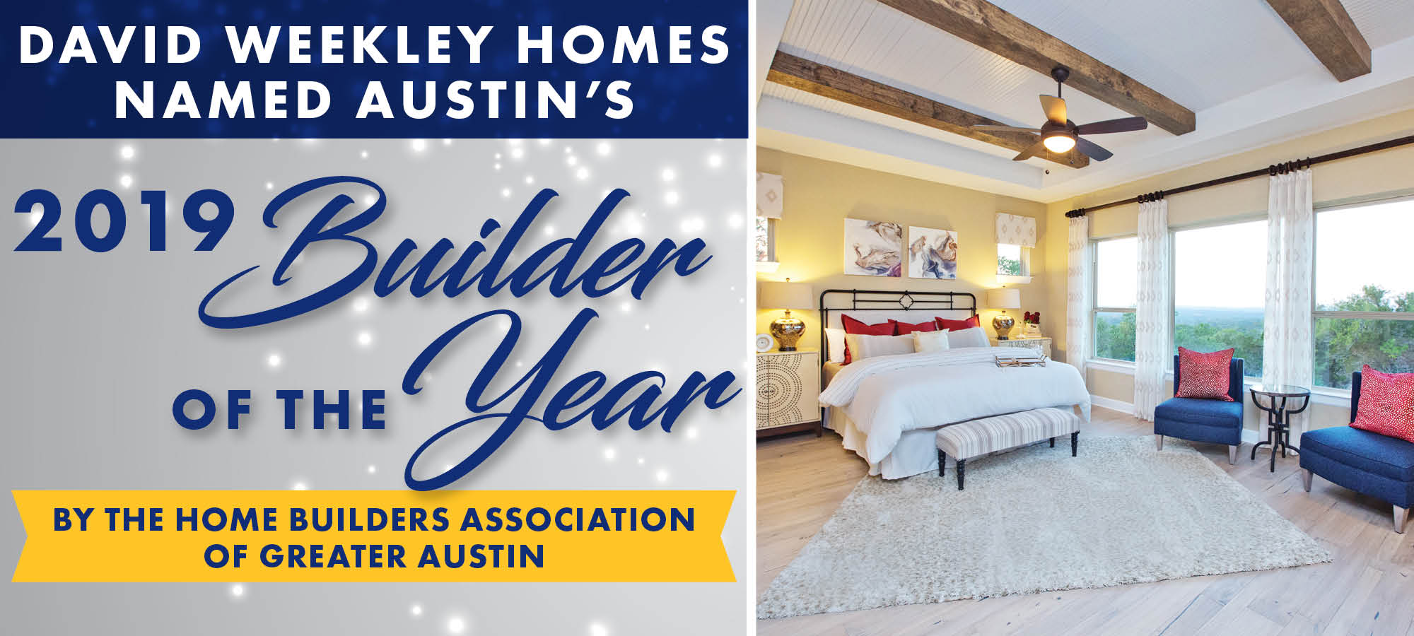David Weekley Homes Wins Builder of the Year in Austin!