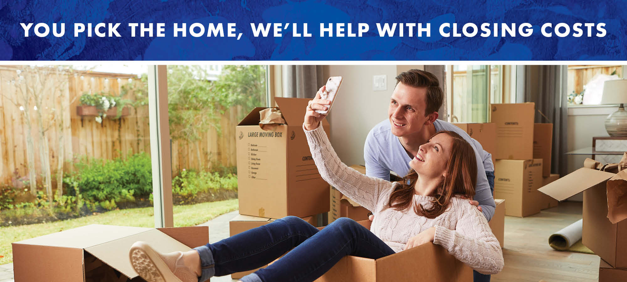 You Pick the Home, We'll Help with Closing Costs