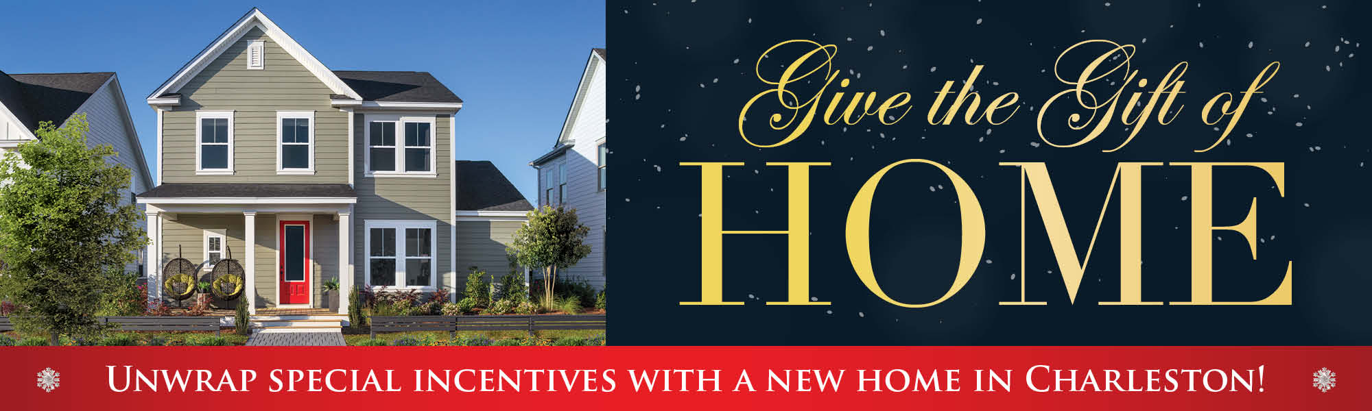 Give the Gift of Home in Charleston