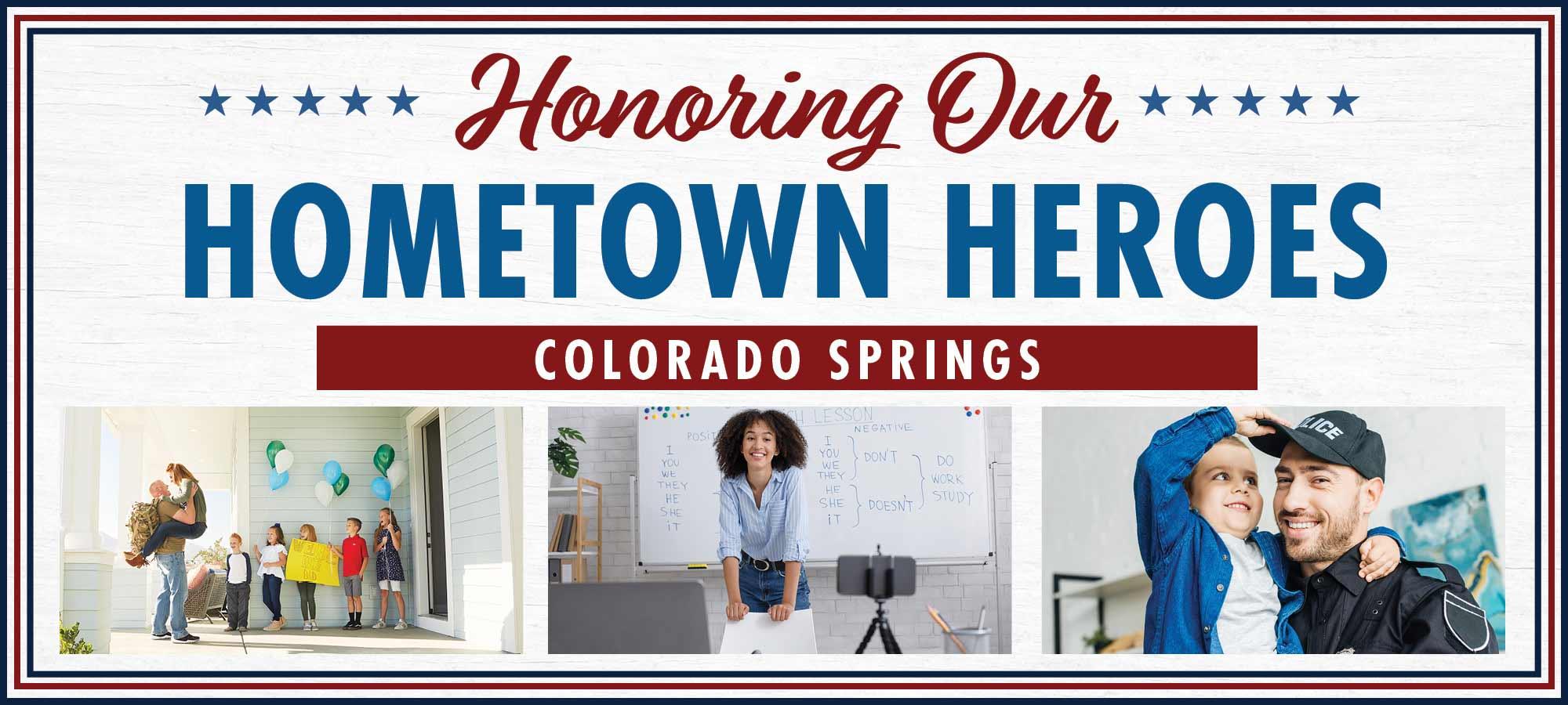 Salute to Hometown Heroes in Colorado Springs
