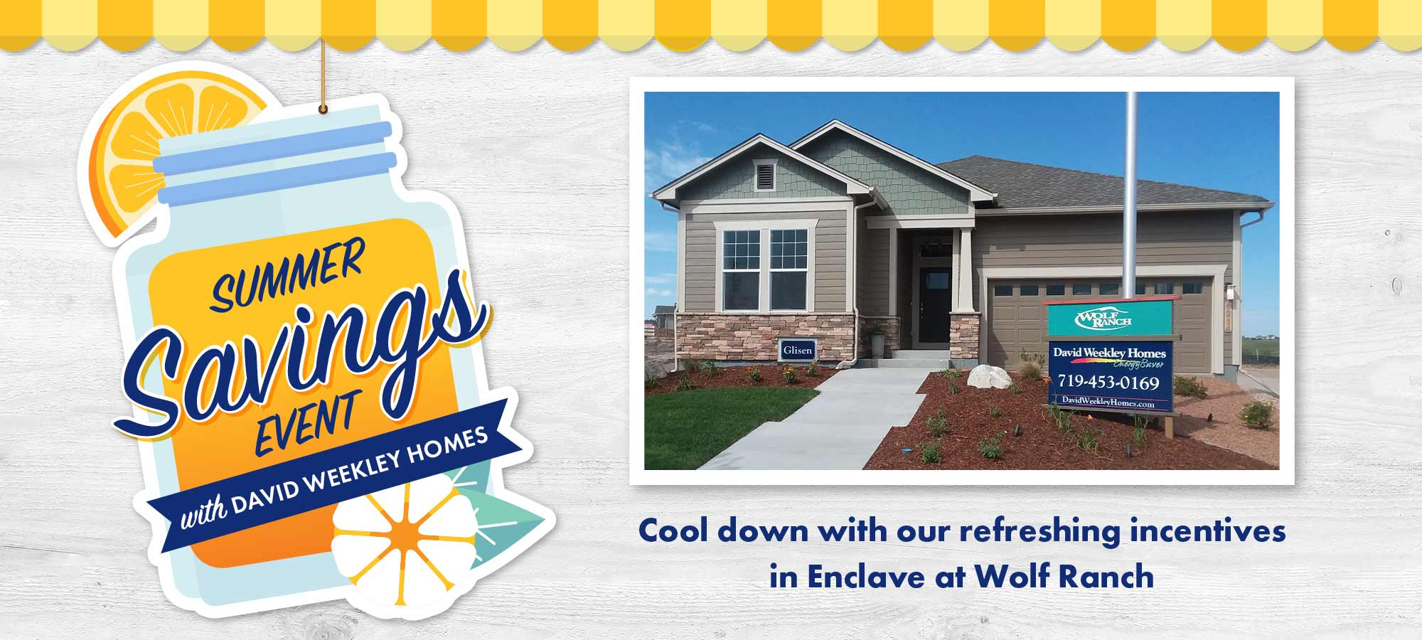 Summer Savings Event in Enclave at Wolf Ranch