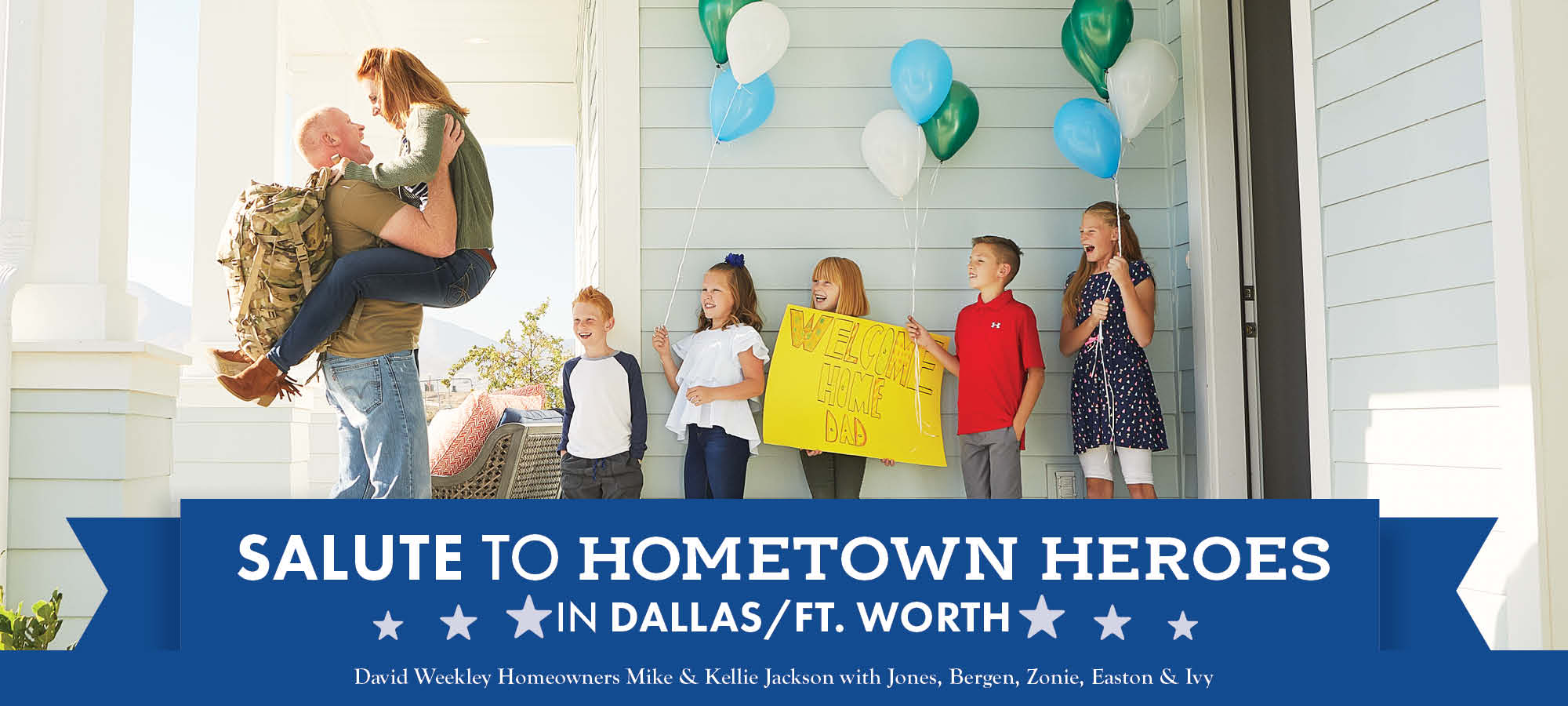 Salute to Hometown Heroes in Dallas/Ft. Worth