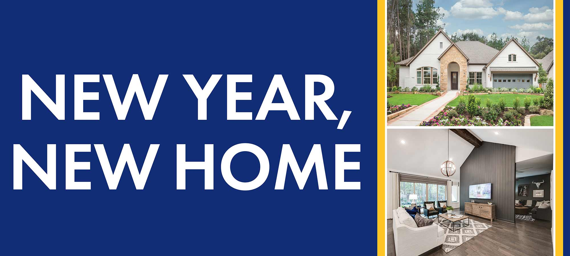 New Year, New Home in Houston!