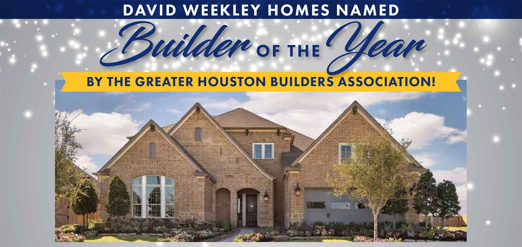 David Weekley Homes Wins Builder of the Year in Houston!