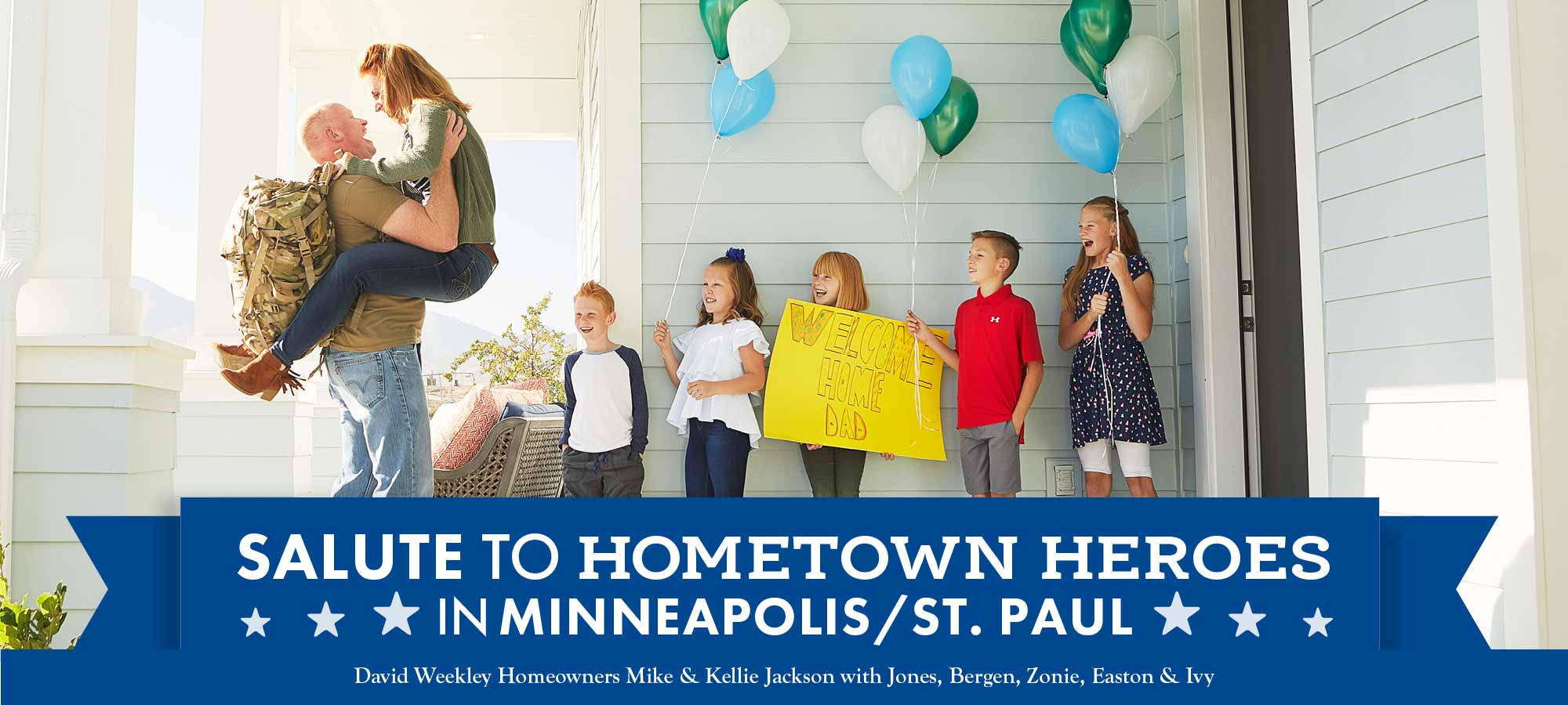 Salute to Hometown Heroes in Minneapolis!