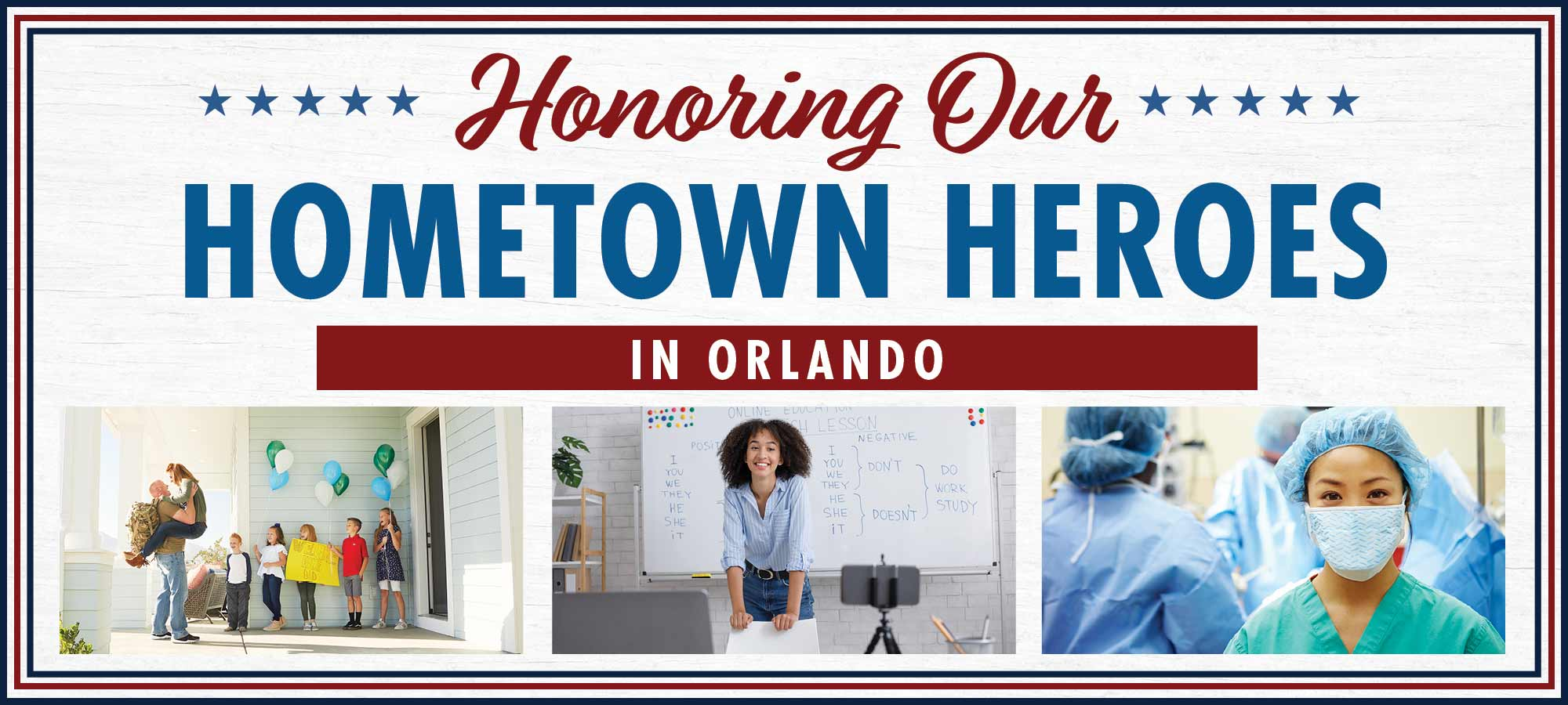 Salute to Hometown Heroes in Orlando