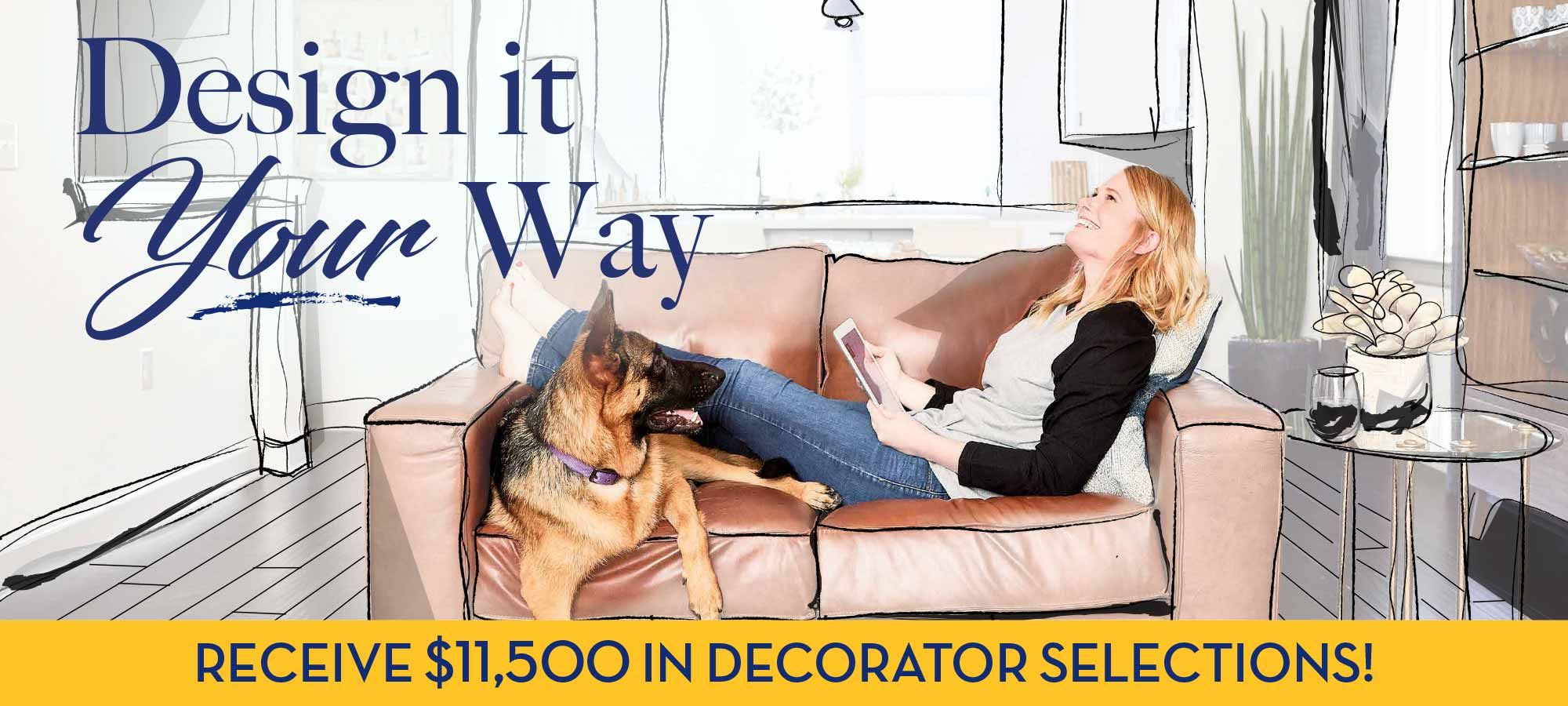 Design it Your Way in The Enclave at Whitby