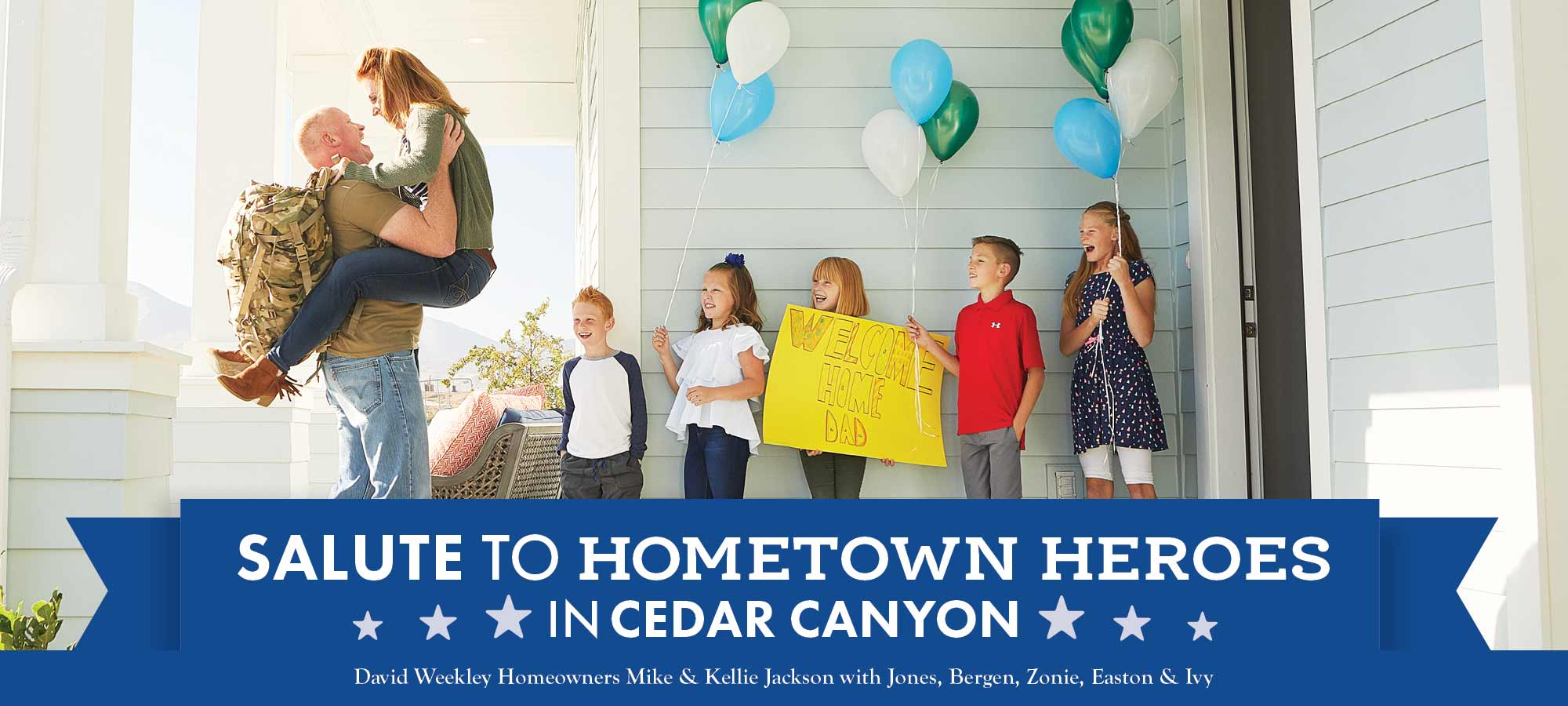 Salute to Hometown Heroes in Cedar Canyon