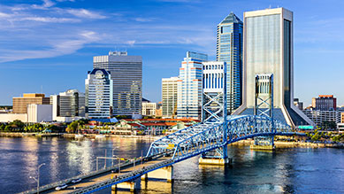 Jacksonville, FL skyline