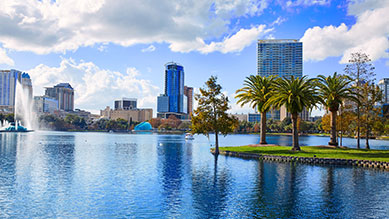 Orlando, FL skyline