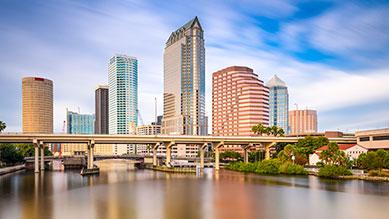 Tampa, FL skyline