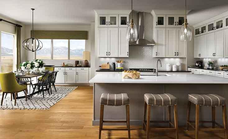 David Weekley Home - Kitchen/Dining