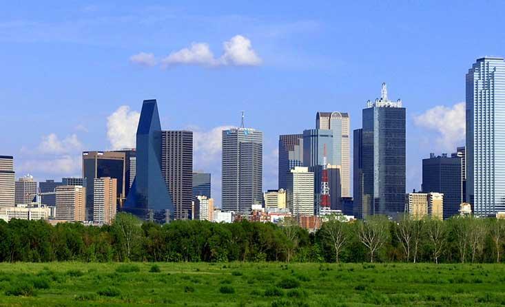Dallas,TX skyline