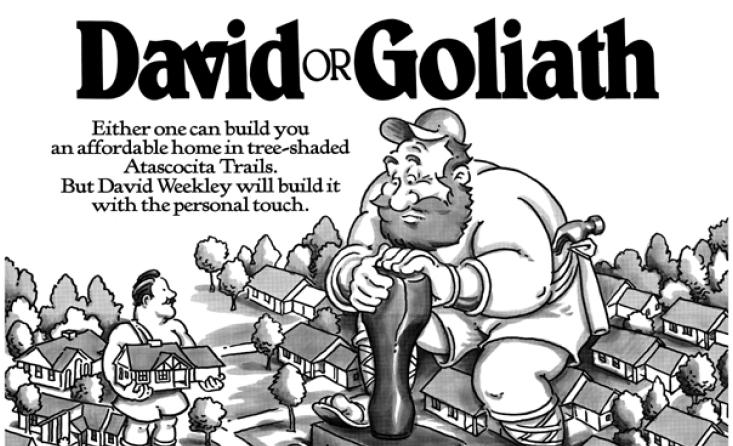 David or Goliath