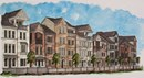 Broadview Place Streetscape Rendering
