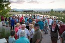 Overview of an event at a summer party in Anthem Ranch