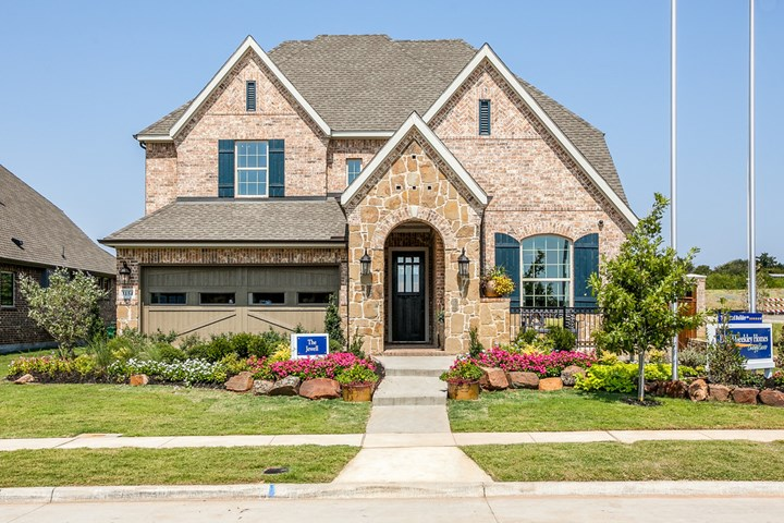 Highland Court Cottage Flower Mound Tx Home Builder New Homes