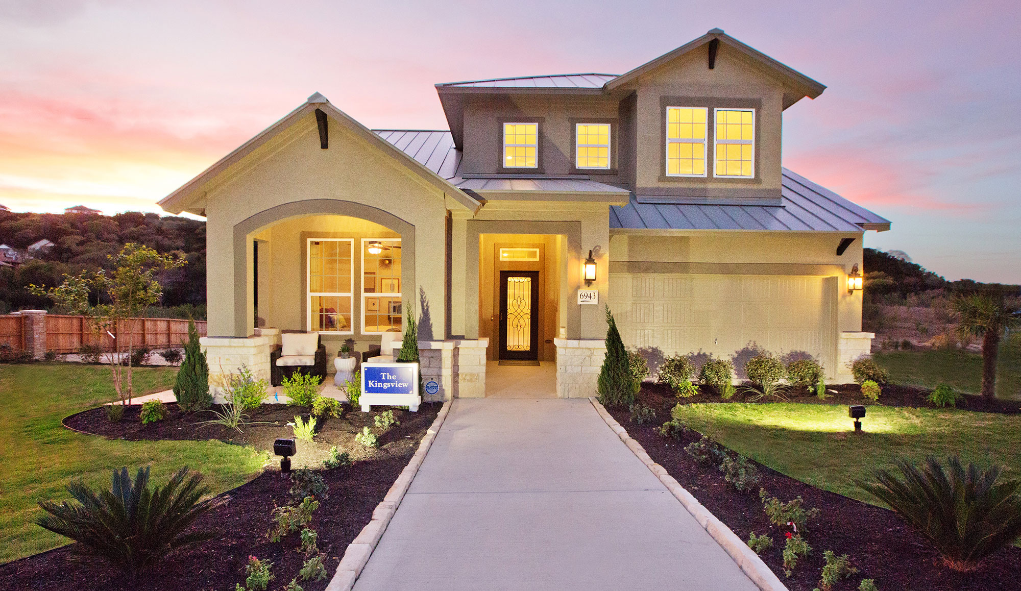 The Villas at Roanoke San Antonio TX Home Builder, New Homes
